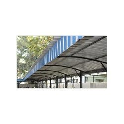 Parking shed suppliers manufacturers dealers in chennai for Terrace shed designs india