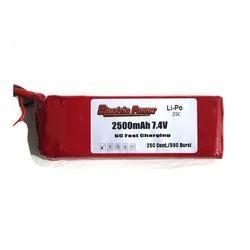 7.4v- 2500 ma LiPo Battery 25C