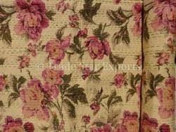 Glazed Cotton Kantha Quilt