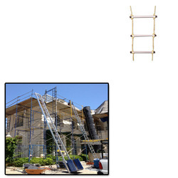 Aluminuim Rope Ladder for Construction SIte