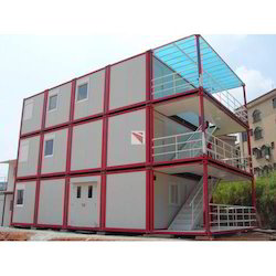 Three Storey Office Site Container