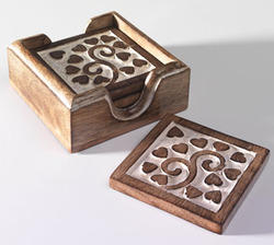 Perfect Wooden Coasters U0026 Wood Carved Coasters