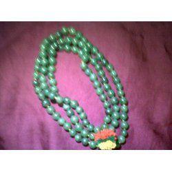 Jade Green Gemstone Mala