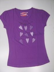 Womens Chest Print Top