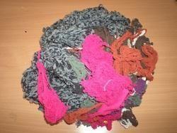 Mix Color Cotton Thread Waste