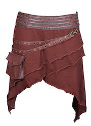 Niger Army Knitted Skirt