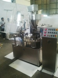 Fully Automatic Ointment Filling Machine