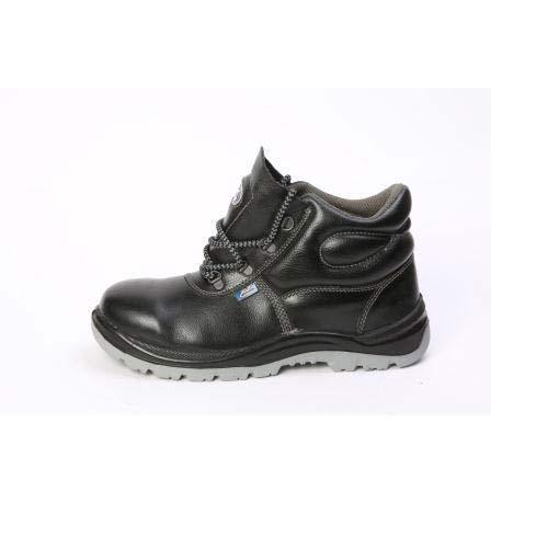Leather All Sizes Safety Shoes