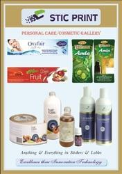 Personal Care Cosmetic Labels