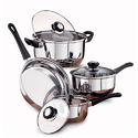 Stainless Steel Cookware Set (7 Pcs)