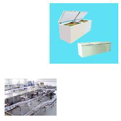 Deep Freezer for Beverage Industry