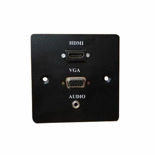 Av Face Plate Hdmi Vga Audio Plate Manufacturer From New