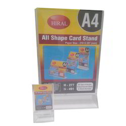 Card Stand A4 Size