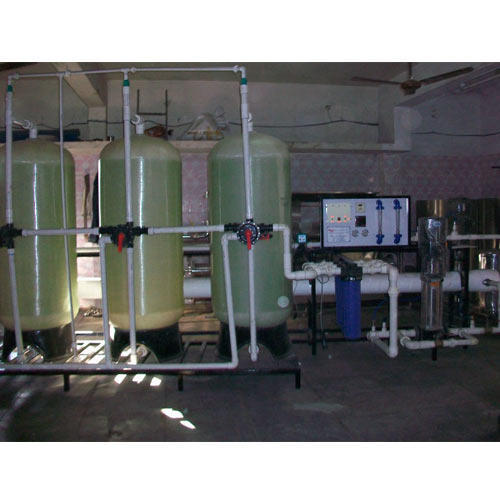 Stainless Steel Semi-automatic Pure Water RO Plant, Institutional RO Plant, 500-1000 (liter/Hour)