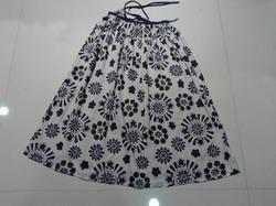 Printed Voile Skirt