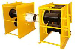 3 Drum Power Winch Machine