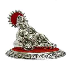 Metal Ganesha Sculpture