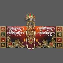 Chatri Ashirwad Ganesh Mural