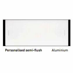 Personalized Semi Flush Aluminum