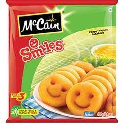 Smiles Chips, Mccain Frozen Ready To Eat Snacks | Commercial Complex