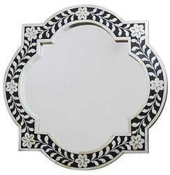 Bone Inlay Mirror Frame