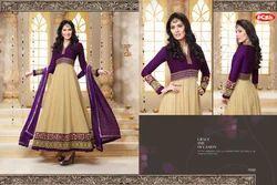 Unstitched Georgette Designer Anarkali Suits