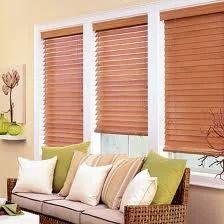 Horizontal Wooden Venetian Blinds