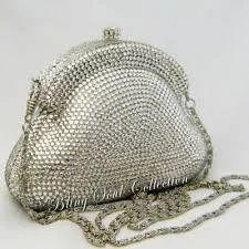 Silver Hand Bag