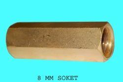Vijay Golden Brass Socket
