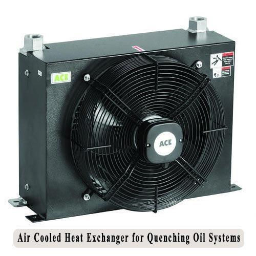 Air Cooler Exchanger : Air cooled heat exchanger for quenching oil systems ace