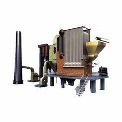 Thermal Rice Husk FBC Steam Boiler, Voltage: 415 V