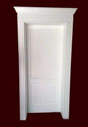 White Solid Wood Door