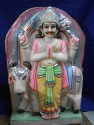 Marble Disha Dev God Statue