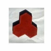 Three Star Interlocking Tiles