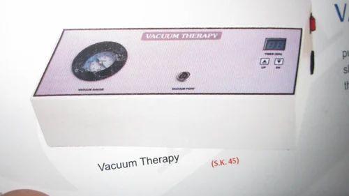 Vaccum thearpy machine