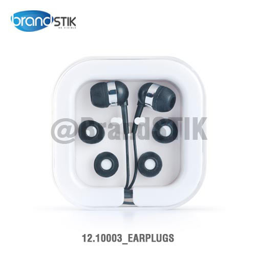 Promotional Earphones With Plastic Box