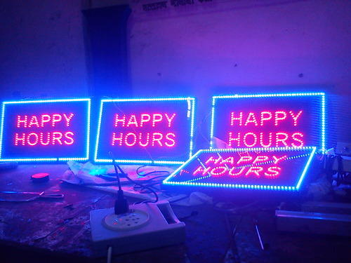 LED Dotted Signage