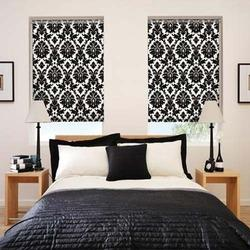 Printed Polyester Vertical Blinds, For Home And Hotels