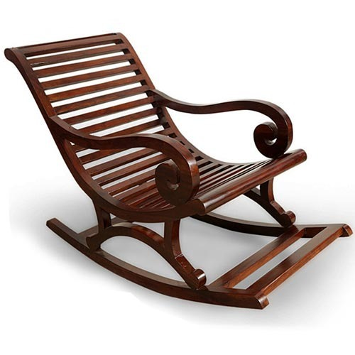 Chairs Saffron Royale Rocking Chair Manufacturer From Mumbai