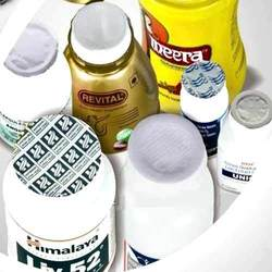 Lidding Foils for HDPE Jars & Bottles