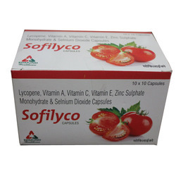 Lycopene 5000mcg Multivitamin Zinc Sulphate 27.45 mg
