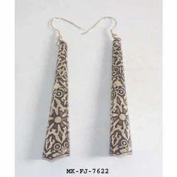 Multicolor Modern Metal Earrings