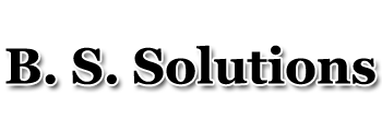 B. S. Solutions