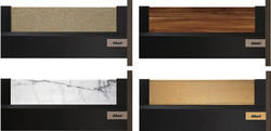 Invito With Stone , Leather , Wood