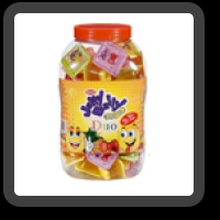 Jelly Belly Duo Cup Jar