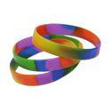 Multi Color Silicone Wristband