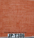 Red Plain Solid Colour Dyed Pure Organic Silk Fabric, Use: Curtains