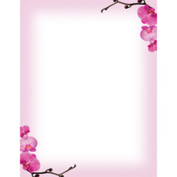 Flower border paper border paper nagpur ameya printing flower border paper mightylinksfo