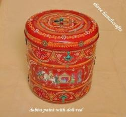 Dabba Red with Doli