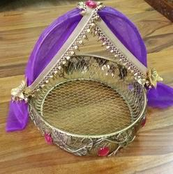 Indian Wedding Gift Basket Ideas : Wedding Saree Bridal Trousseau Ng Gift Wrapping Cles
